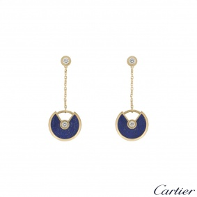 Cartier Yellow Gold Amulette de Cartier Earrings